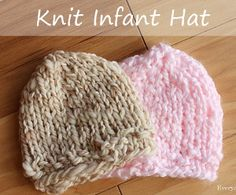Baby Shower Hat | AllFreeKnitting.com