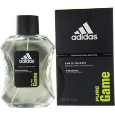 Adidas Pure Game By Adidas Edt Spray 3.4 Oz (developed With Athletes)