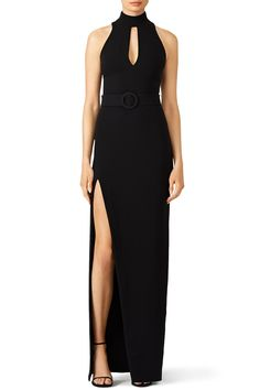 Rent Black Juniper Gown by Cinq à Sept for & only at Rent the Runway. Rent Dresses, Casual Dresses, Formal Dresses, Wedding Dresses, Gowns Of Elegance, Elegant Gowns, Split Design, Ladies Party, Evening Dresses