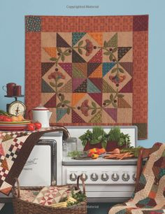 Homestyle Quilts: Simple Patterns and Savory Recipes (That Patchwork Place): Kim Diehl, Laurie Baker: 9781604681635: Amazon.com: Books