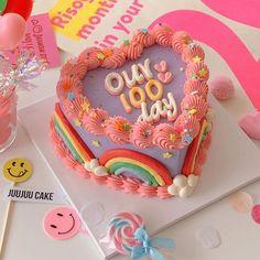 Pretty Birthday Cakes, Pretty Cakes, Beautiful Cakes, Amazing Cakes, Cake Birthday, Girl Birthday, Birthday Gifts, Happy Birthday, Fancy Cakes