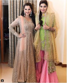 Sister of the bride style - Sania Mirza bowls us over with her fashion picks fro sister Anam's wedding week | Sabyasachi | Sania Mirza with sister Anam | Curated By Witty Vows