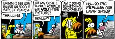 Mother Goose and Grimm By Mike Peters. Mother Goose And Grimm, Comic Strips, Cartoons, Walls, Posters, Earth, Comics, Google, Pictures