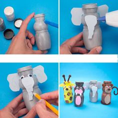 brinquedos-de-sucata-iogurte.jpg (610×610)
