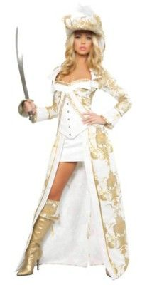 Check out Sexy Deluxe Pirate Queen Costume - Sexy Pirate Halloween Costumes from Costume Super Center Adult Pirate Costume, Queen Halloween Costumes, Queen Costume, Halloween Fancy Dress, Adult Costumes, Costumes For Women, Pirate Costumes, Girl Halloween, Wench Costume