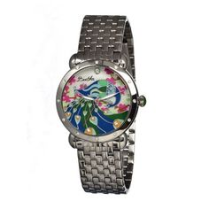 Bertha Women's BR2801 Didi Silver/Multi Stainless Steel Watch * You can find out more details at the link of the image.