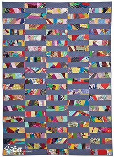15 Minutes of Play—Improvisational Quilts