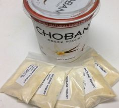 make dehydrated yogurt for added flavor-camp cooking. Picture of Dehydrate Yogurt
