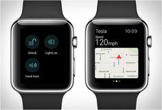 Tesla Apple Watch App » Design You Trust. Design, Culture & Society.
