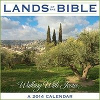 Lands of the Bible Wall Calendar 2014