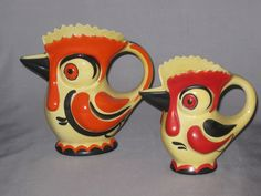 Ditmar Urbach Rooster Pitchers.  I have both of those too.