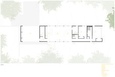 Residencia Corbett,Planta nivel suelo © in situ studio