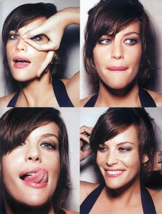 Liv Tyler :: love her :: wedding make up??
