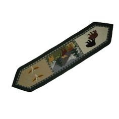 Patch Magic 72-Inch by 16-Inch Northwoods Walk Table Runner by Patch Magic. $43.00. 100-Percent Cotton, Handmade, Hand quilted. Matching Accessories available. Table Runner 72-inch by 16-inch. 100% Cotton. I awake and all the wilderness animals walk with me