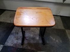 I have an old school desk. I want a beautiful and most importantly very durable level finish. What product and process do I use? Kids need to write on it so it needs to have a dead level durable finish. http://ift.tt/2kunezO