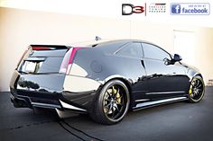 D3 Cadillac CTS-V Coupe modified by www.d3groupinc.com.
