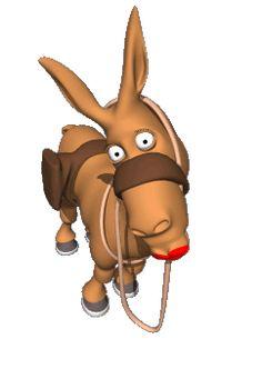 Donkey kisses!