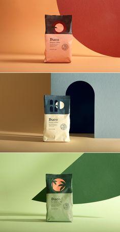 Buco Coffee – Fivestar Branding Agency - Buco Coffee package design by Molto Bureau Food Packaging Design, Coffee Packaging, Coffee Branding, Packaging Design Inspiration, Brand Packaging, Chocolate Packaging, Bottle Packaging, Product Packaging Design, Product Branding