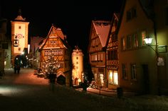 Rothenburg at Night - Brian Wiese