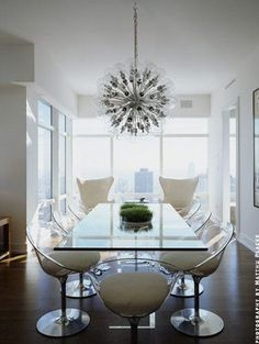 Love the lamp, love the chairs!!