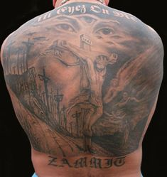 Christian Tattoo Ideas Jesus Backpiece