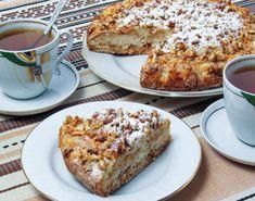 Prăjitură bulgărească cu mere și griș - cu siguranță încă nu ai preparat niciodată un astfel de desert, pentru care nici de aluat nu vei avea nevoie! - Bucatarul French Toast, Deserts, Cookies, Breakfast, Food, Crack Crackers, Morning Coffee, Postres, Biscuits