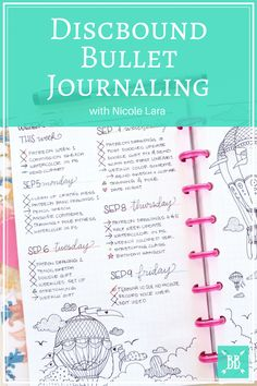 This month's edition of Boho Berry Guests featured the talented Nicole Lara and her discbound Bullet Journal. Bullet Journal Key, Bullet Journal Layout, Bullet Journals, Art Journals, Arc Planner, Planner Pages, Planner Ideas, Discbound Planner, Arc Notebook