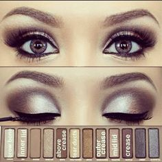 Inspiration Naked 2 Palette   Your Fairy Godmother