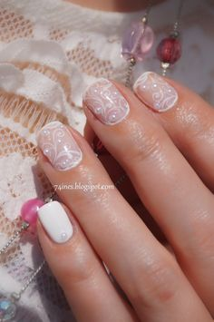 New ideas wedding nails lace half up wedding nails – Wedding İdeas Lace Nail Art, Lace Nails, Disposable Camera Wedding, Half Up Wedding, Manicure, Bride Nails, Wedding Nails Design, Cute Nail Designs, Wedding Beauty