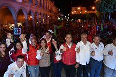 El presidente del Comité Directivo Estatal, Agustín Trujillo Íñiguez, señaló que el PRI confía en que la gente del distrito XII ratificará el triunfo de Chava Peña en el distrito ...