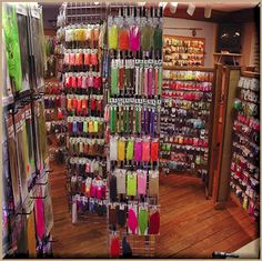 Fly tying Materials I could shop for hours! Like women shop for shoes