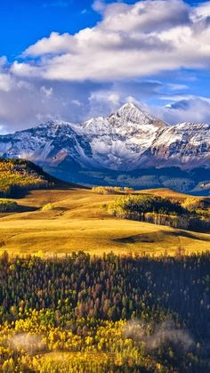 Wilson Peak, Telluride, Colorado,USA: