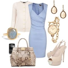 """Ana's blue shift"" by sabra628 on Polyvore"