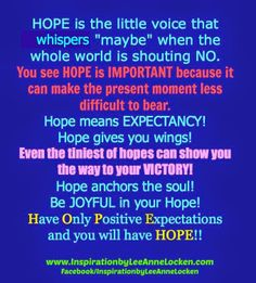 "Are you looking for a little #HOPE? Here it is! ✔ Like ✔ ""Share"" ✔ Tag ✔ Comment ✔ Repost ✔Follow #empowermentquotes #inspirationalquote #motivationalquotes #encouragement #lifelessons #successtips #quotestoliveby #inspiration #motivation #empowerment #lifequotes #quotesonlife #inspirational #motivational #success #blessings #positivethinking #positivethoughts #positiveenergy"