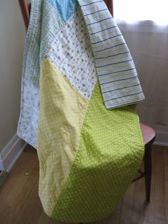 Tutorial: The 3-2-1 Throw, A Quick & Easy Little Quilt