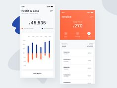 If you want to use invoice design for your next app ui design, you should take a look at these 21 Invoice App UI Designs for Inspiration. These roundup will give some ideas and inspiration for your… Mobile Ui Design, App Ui Design, Chart Design, Web Design, Dashboard Mobile, Mobile App, Dashboard Ui, Budget Planner App, Invoice Design