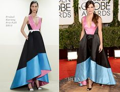 Sandra Bullock In Prabal Gurung – 2014 Golden Globe Awards