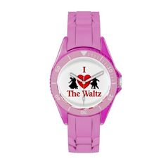 I Heart The Waltz Dance Wrist Watch