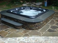 Awesome hot tub custom install from some friends down south.