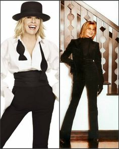 little black sequin: fashion icon: diane keaton