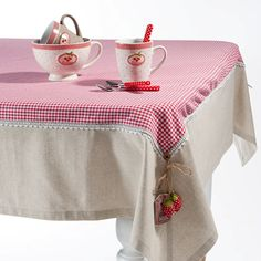 Toalha de mesa.