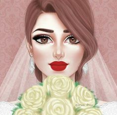 Find images and videos about wedding and bride on We Heart It - the app to get lost in what you love. Love Cartoon Couple, Cute Couple Art, Girly M, Couple Illustration, Illustration Art, Sarra Art, Girl Cartoon Characters, Mother Art, Cute Girl Drawing