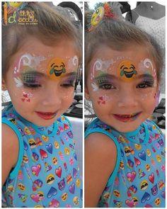 Beautiful birthday girl Violet #emoji #emojifacepaint #emojis #facepaint #facepainting #facepainter #dizzydoodlefacepainting #Broward #southfl #southflorida #Browardfacepainter #southfloridafacepainter #southflfacepainter #professionalfacepainter #sillyfarm #dadefacepainter #Twitter