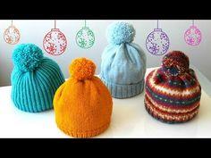 How to Knit - Beanie/Hat Freeform Crochet, Irish Crochet, Knit Crochet, Crochet Hats, Loom Knitting, Baby Knitting, Knitting Projects, Crochet Projects, Bruges Lace