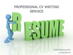 Looking for Professional Resume writer services in Australia. Our services can help you to prove your experience in the industry. We deliver a unique and modern quality resume at lowest prices.