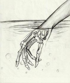 "Pencil Art Drawing, Inspirational Drawing Idea, Awesome Drawing, Beautiful Drawing, Drawings Of Hand, Creepy Drawing. """