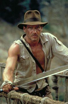 Harrison Ford in Indiana Jones and the Temple of Doom (Indiana Jones e o Templo da Perdição, 1984)