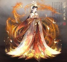 Red Phoenix of Genesis Anime Art Girl, Manga Art, Ying Y Yang, Character Inspiration, Character Design, Nikki Love, Card Captor, Anime Dress, Estilo Anime