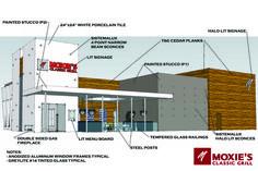 restaurant exterior design | renovation portfolio restaurant ...