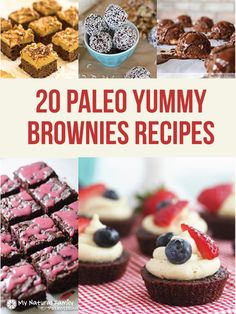 20 Paleo Brownie Recipes
